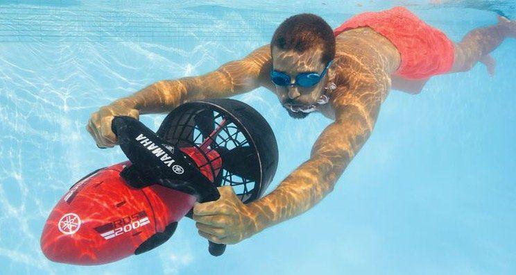 Yamaha RDS200 Unterwasserscooter für Taucher und Schnorchler für 267€ (statt 369€)