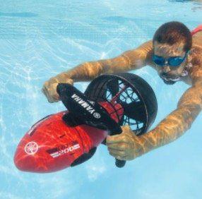 Yamaha RDS200 Unterwasserscooter für Taucher und Schnorchler für 299€ (statt 344€)