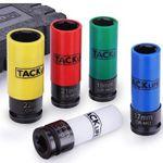 TACKLIFE Radmutter-Nuss Satz LNS1B 5teilig mit Kunststoffhülse zum Felgenschutz für 17,99€ (statt 36€)