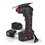 EASYmaxx Akku-Handkompressor 02648 12V 8bar in Schwarz-Rot für 34,99€ (statt 49€)