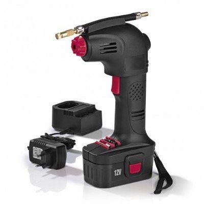 EASYmaxx Akku Handkompressor 02648 12V 8bar in Schwarz Rot für 36,89€ (statt 50€)