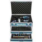 Makita DF457DWEX6 (2x 1,3Ah + 102-teiligem Zubehör im Koffer) für 206,95€ (statt 234€)
