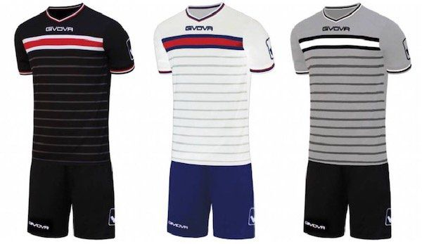 Givova Skill Fußball Set mit Trikot und Shorts für 11,72€ (statt 30€?)