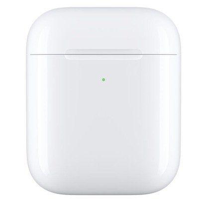 Apple Kabellose Ladecase Qi kompatibel in Weiß für AirPods für 49,90€ (statt 63€)