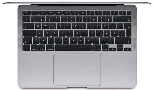 Apple 13,3 MacBook Air 2020 256GB für 99€ mit Vodafone Cable 1GBit + Allnet Flat mit 20GB LTE500 für 79,48€ mtl.