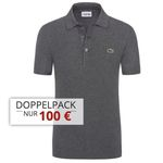 2er Pack Lacoste Poloshirts in Regular Fit ab 90€ (statt 114€)