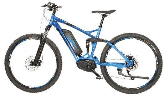 Fischer EM 1862.1 S2 Pedelec Mountainbike 27.5 Zoll bis 25 km/h in Blau Matt ab 2.016,86€ (statt 2.339€)