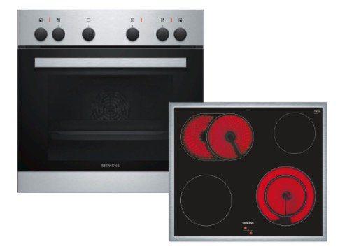 Siemens EQ110KA0EE Einbauherd Set mit Ceran Kochfeld für 379€ (statt 469€)