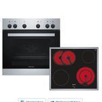 Siemens EQ110KA0EE Einbauherd-Set mit Ceran-Kochfeld für 406,43€ (statt 502€)