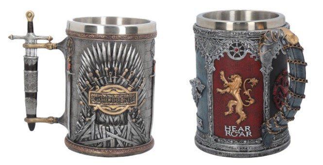 30% Rabatt auf Game of Thrones Kelche und Bierkrüge