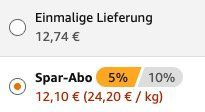 Ausverkauft! 25er Pack Grillido Sportwurst Rind & Kräuter ab 12,10€ (statt 23€)