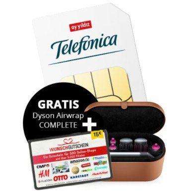 o2 Flat von Ay Yildiz mit 12GB LTE für 29,99€mtl. + gratis Dyson Airwrap Complete (Wert 478€)