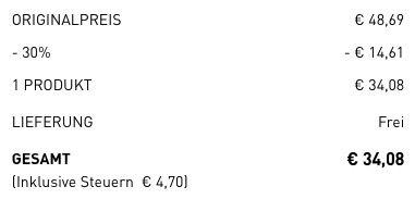 adidas Runfalcon Laufschuhe für 34€ (statt 39€)