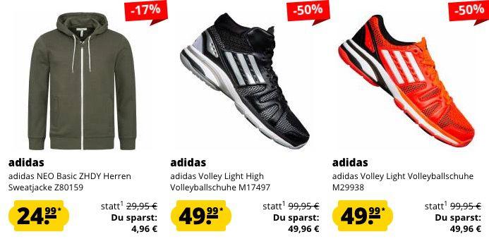 adidas Mega Sale mit vielen Angeboten   z.B. adidas Run 60s Laufschuhe für 33,33€ (statt 47€)
