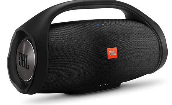 JBL Boombox   Wasserdichter Bluetooth Lautsprecher in Schwarz (20.000 mAh) für 217,57€ (statt 295€)