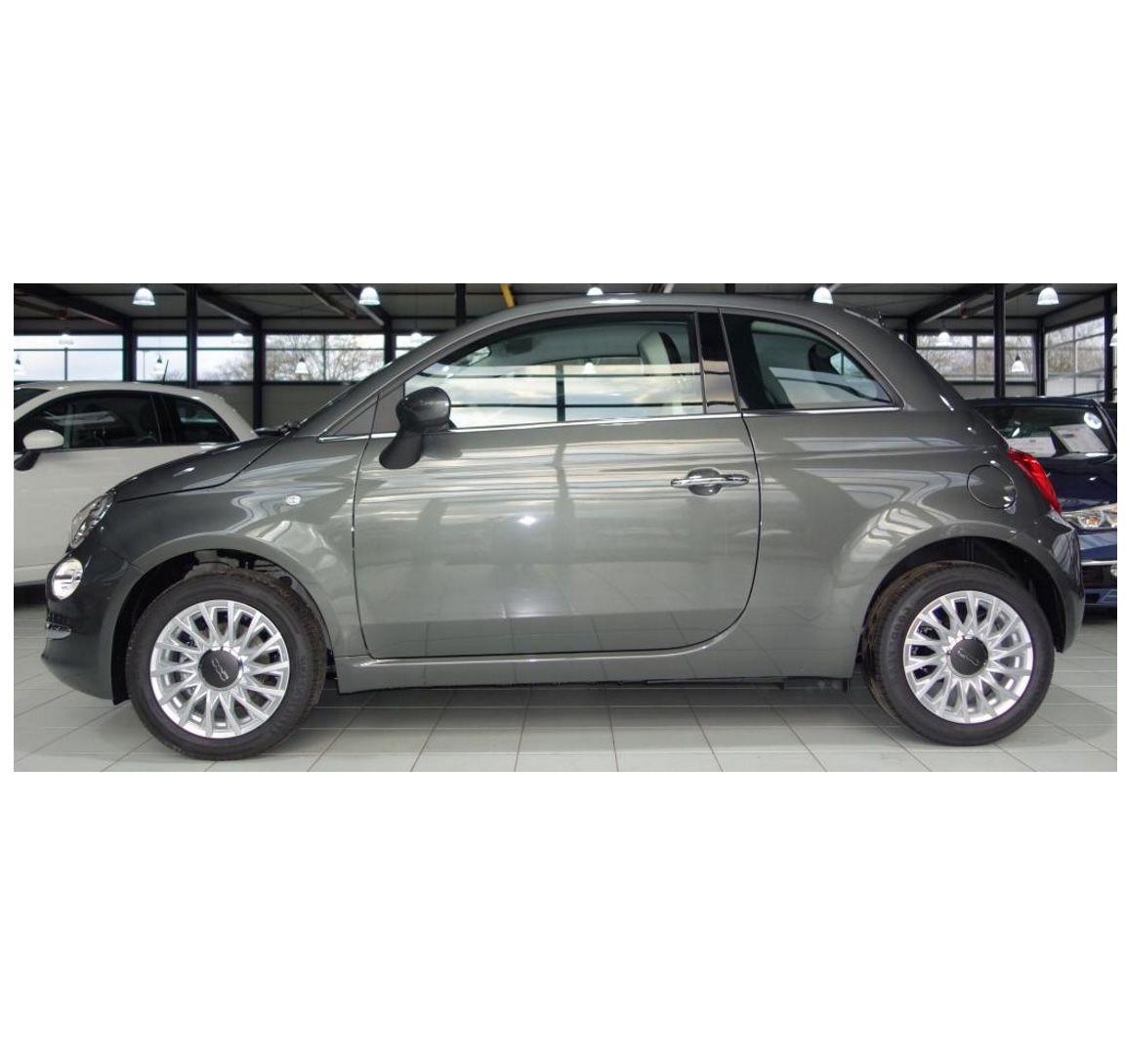 Fiat 500 Lounge mit 69 PS + Carplay für 69€ mtl. – LF: 0.41