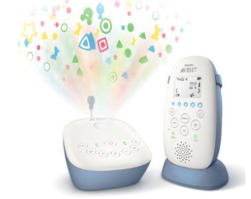 Philips SCD735/26 Audio Babyphone mit Sternenhimmel Projektor für 79,99€ (statt 142€)