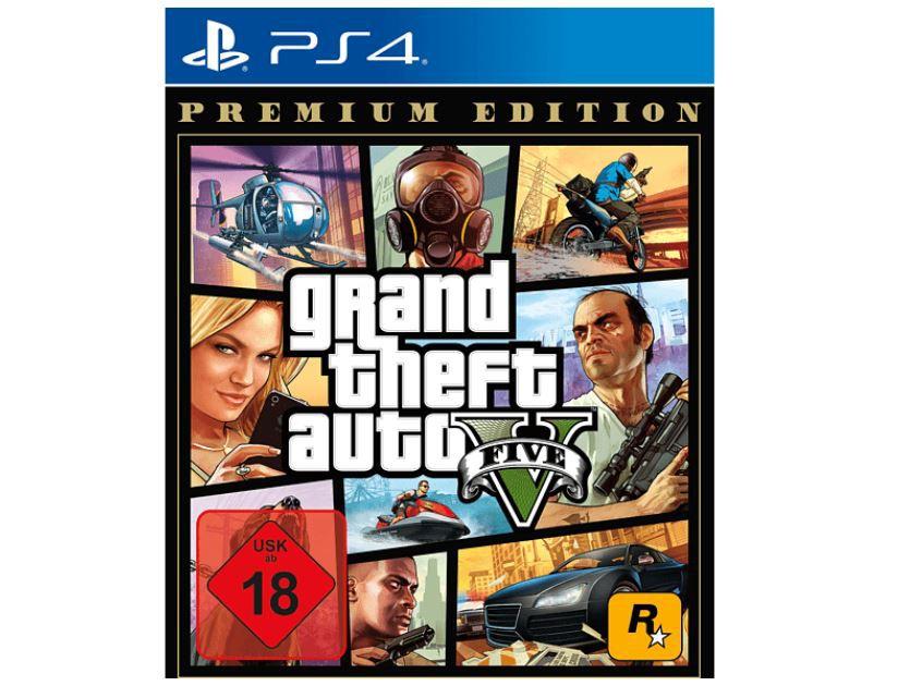 Media Markt GAMING HIGHLIGHTS: z.B. Grand Theft Auto V   PS4 Premium Edition ab 17,99€ (statt 25€)