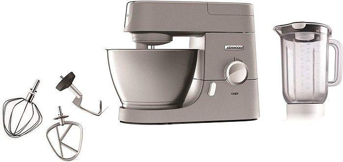 KENWOOD KVC 5391 S Chef Elite Küchenmaschine inkl. 6 Zubehörteile für 429€ (statt 529€)