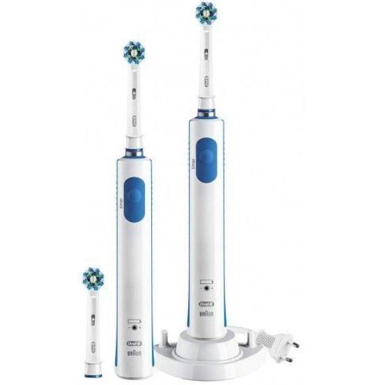 ORAL B PRO 600 Bonuspack elektrische Zahnbürste mit 2. Handstück für 44,90€ (statt 54€)