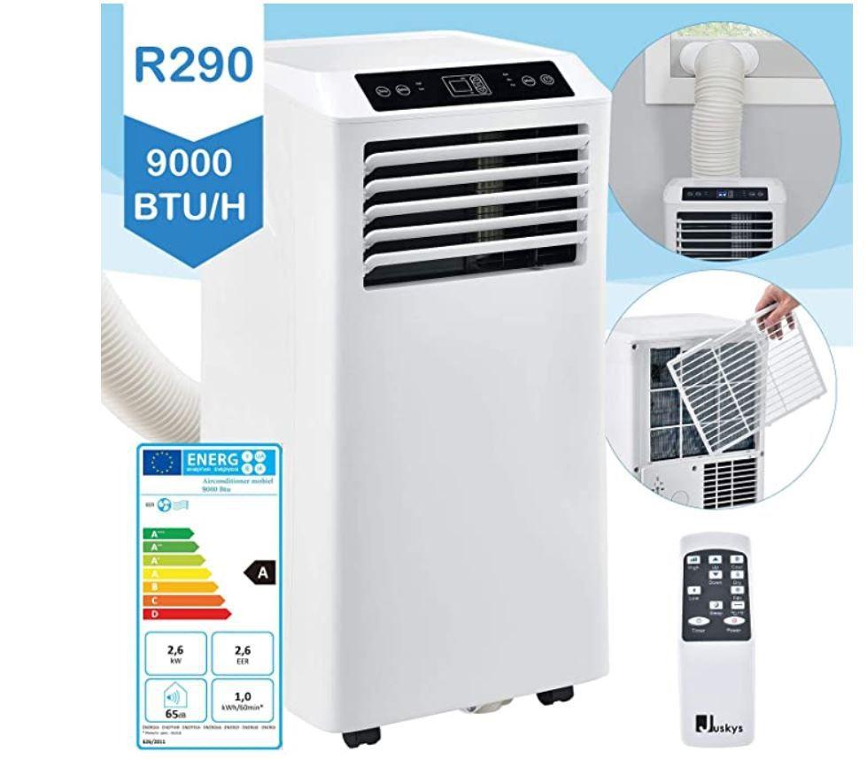 Juskys R290 mobile Klimaanlage für 232€ (statt 270€)