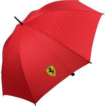 Scuderia Ferrari Stockschirm in schwarz oder rot für 16,99€ (statt 23€)