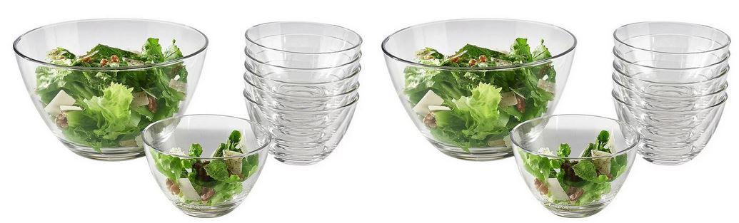 Leonardo Selection 14 teilige Glas Schüssel Set für 29,93€ (statt 44€)