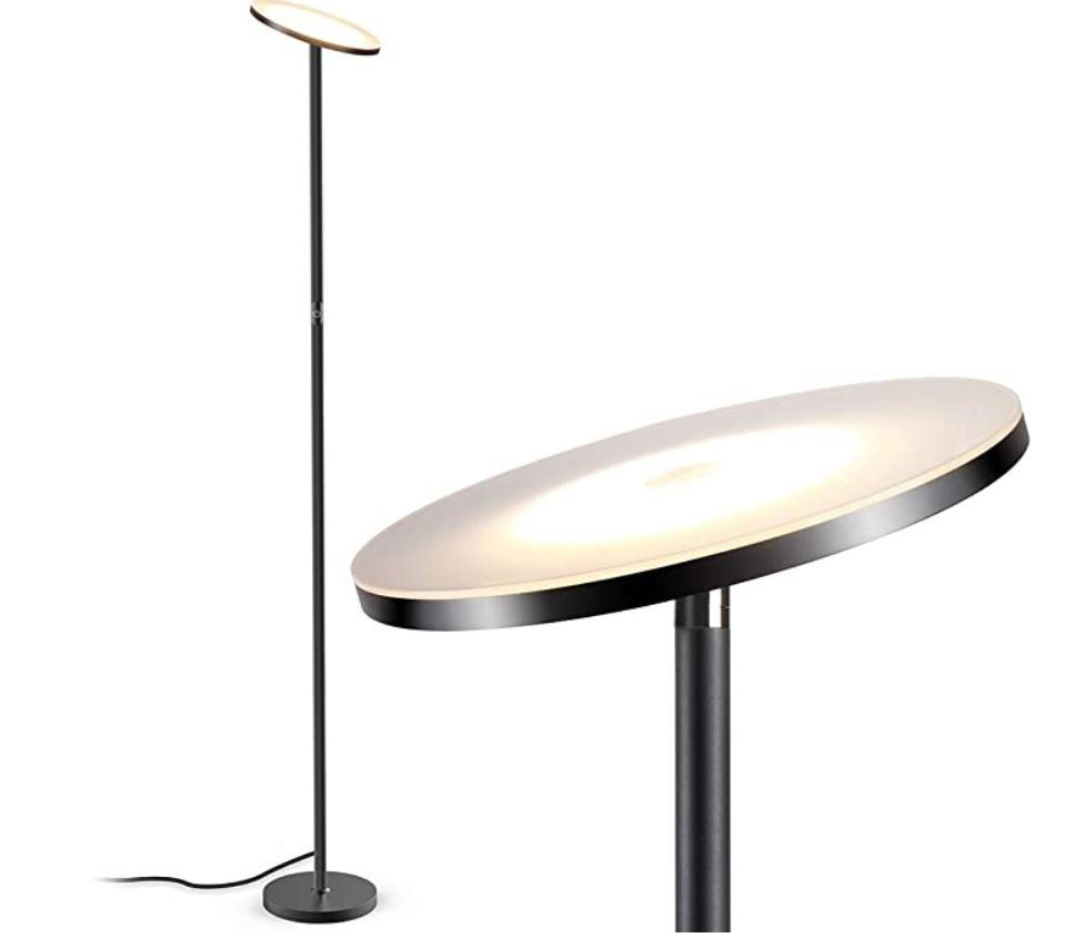 TECKIN dimmbare LED Stehlampe 20W für 35,74€ (statt 55€)