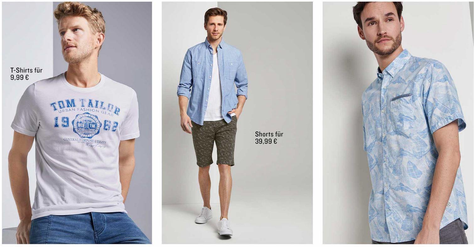 Tom Tailor Final Summer Sale bis 50% + 30% extra Rabatt + 0,99€ VSK