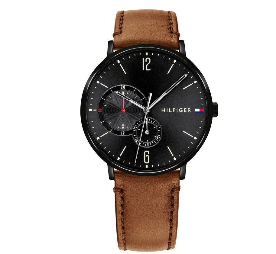 Tommy Hilfiger Brooklyn   Herren Multifunktions Uhr für 127,20€ (statt 143€)