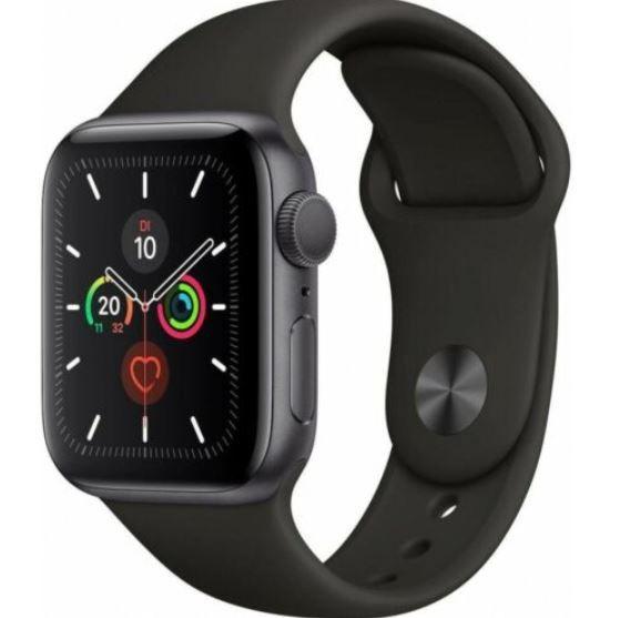 Apple Watch Series 5 GPS 40mm in Spacegrey für 359,91€ (statt 408€)