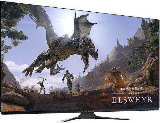 Alienware AW5520QF   55 Zoll OLED Gaming Monitor mit 120 Hz für 2.549,30€ (statt 3.184€)