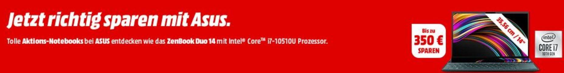 Media Markt ASUS Markentage: z.B. ASUS ROG Gladius II Origin Gaming Maus ab 49€ (statt 65€)