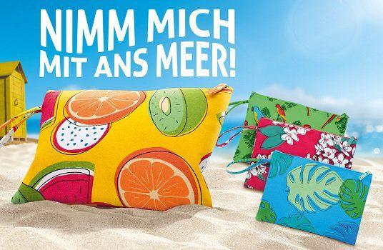 Mit dem Kauf von Unileverprodukten ein Beach Bag gratis abfassen