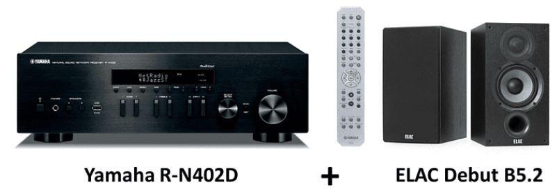 Media Markt €uro 2020   z.B. YAMAHA ELAC HiFi Bundle mit Receiver und Lautsprecher ab 476,43€ (statt 569€)