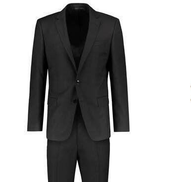 BOSS Anzug Huge6/Genius5 in Schwarz für 334,91€ (statt 400€)