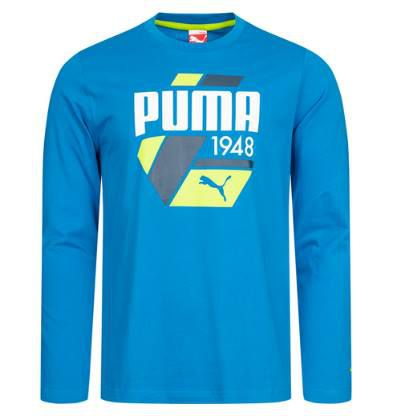 Puma Fun S. Casual Logo Langarm Shirt für 13,99€ (statt 20€)