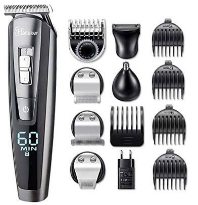 Hatteker 5in1 Bodygroomer Set für Bart, Haare, Nase & mehr für 20,94€ (statt 42€)