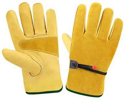 2 Paar! CCBETTER Leder Arbeitshandschuhe in 4 Größen für je 8€ (statt 20€)
