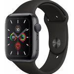 Apple Watch Series 5 (GPS, 44mm, Aluminium) mit Sportarmband für 413,91€ (statt 435€)