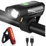 Tatopa Fahrradlicht LED Set mit Vorder- & Rücklicht für 11,97€ (statt 17€)