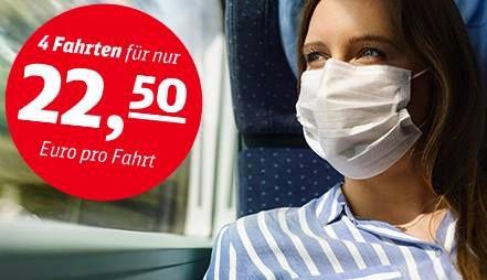 DB Sommer Ticket: 4 Fahrten für 70€ (bis 17 Jahre) bzw 90€ (bis 26 Jahre)