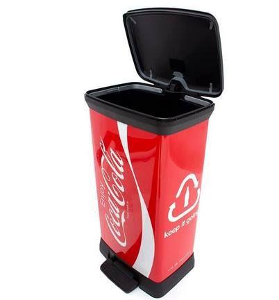 Curver Coca Cola 50L Abfalleimer für 35,25€ (statt 55€)
