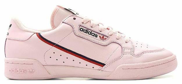 adidas Continental 80 Damen Sneaker in Pink für 38,90€ (statt ~60€)