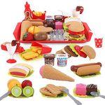 28tlg Küchenspielzeug Lebensmittel-Set für 15,39€ (statt 22€)