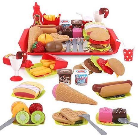 28tlg Küchenspielzeug Lebensmittel Set für 15,39€ (statt 22€)
