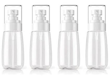 4x 60ml Sprühflasche zum Nachfüllen für 3,96€ (statt 7€)