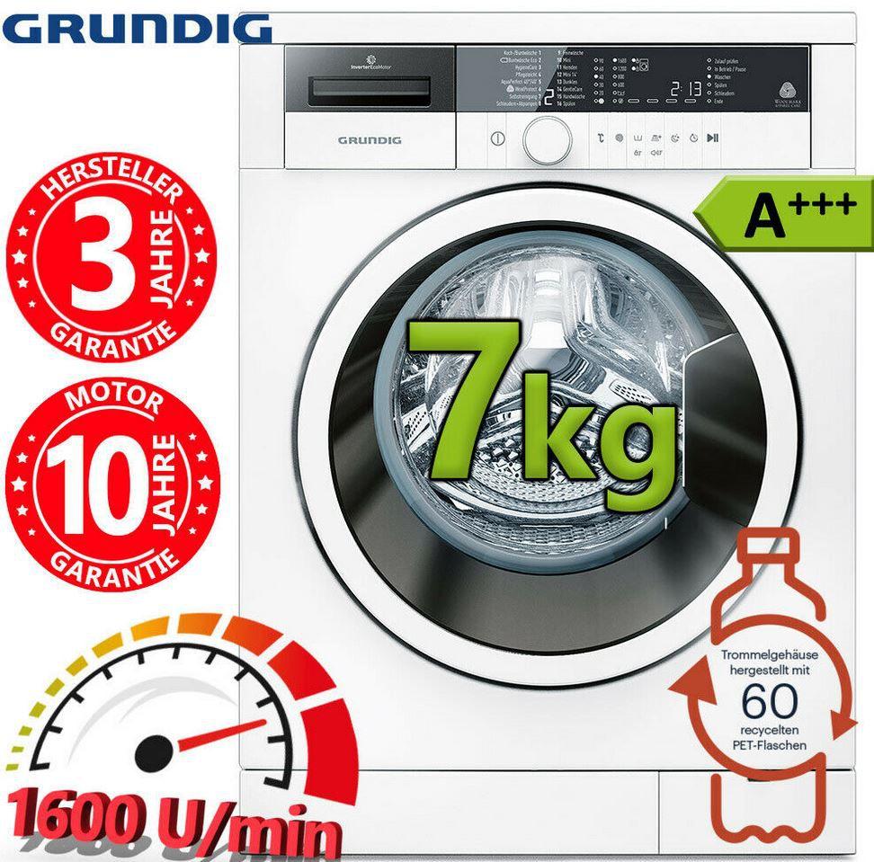 Grundig GWN 37631   7kg Waschmaschine 1.600 U/min. für 299,90€ (statt 460€)