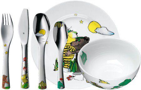 WMF Janosch Kinderbesteck inkl. Teller + Schüssel für 24,95€ (statt 36€)
