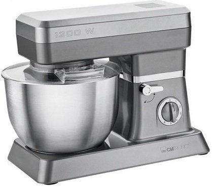 Clatronic KM 3630 Küchenmaschine in Titanoptik für 87,95€ (statt 109€)